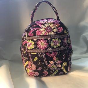 """Vera Bradley """"Purple Punch"""" Lunch Bag"""